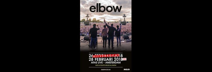 Tickets for elbow's second Amsterdam date on sale